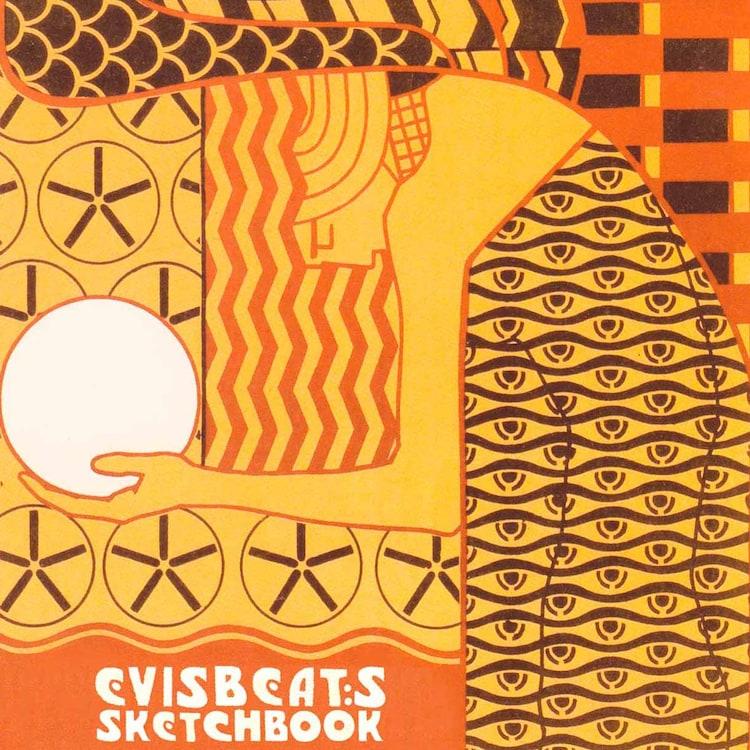 EVISBEATS「SKETCHBOOK」ジャケット