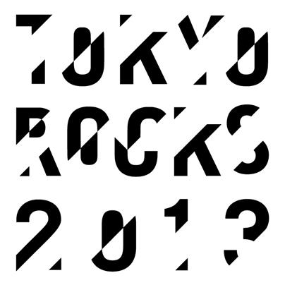 「TOKYO ROCKS 2013」ロゴ