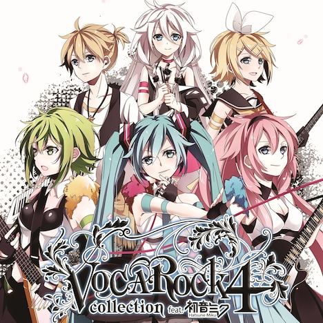 V.A.「VOCAROCK collection 4 feat. 初音ミク」ジャケット