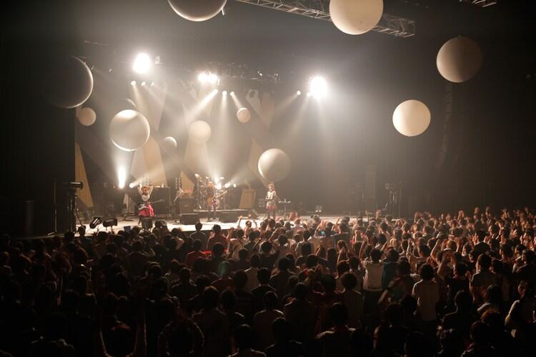 写真は12月16日のライブの模様(撮影:上飯坂一)。