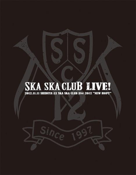 SKA SKA CLUB「SKA SKA CLUB LIVE!」パッケージ