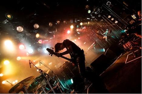 12月6日に行われた渋谷CLUB QUATTRO公演の模様。