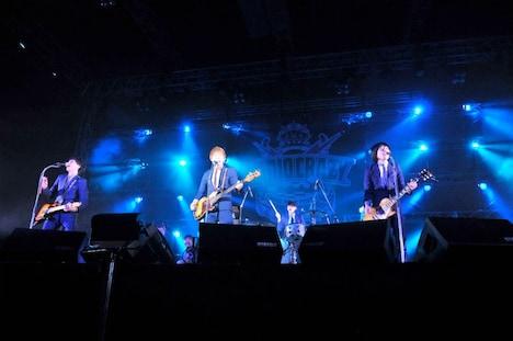 本日12月29日に大阪「RADIO CRAZY」でLステージのトリを務めたTHE BAWDIES。