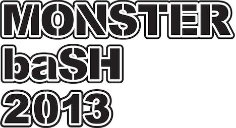 「MONSTER baSH 2013」ロゴ