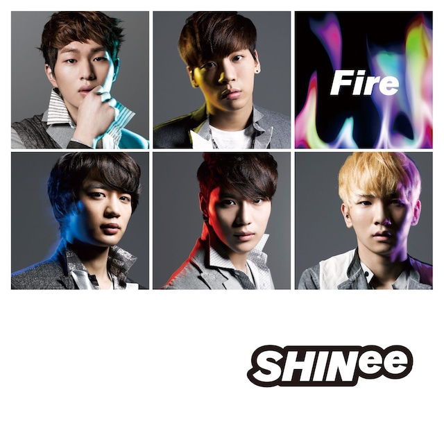 SHINee「Fire」通常盤ジャケット