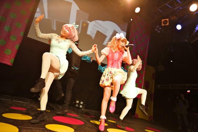 「100%KPP WORLD TOUR 2013」ロンドン公演の様子。(撮影:石井亜希)