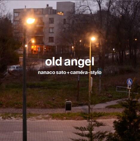 佐藤奈々子+カメラ=万年筆「old angel」ジャケット