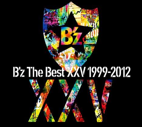 B'z「B'z The Best XXV 1999-2012」ジャケット