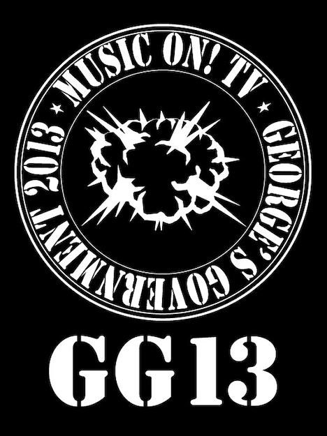 「MUSIC ON! TV presents GG13」ロゴ