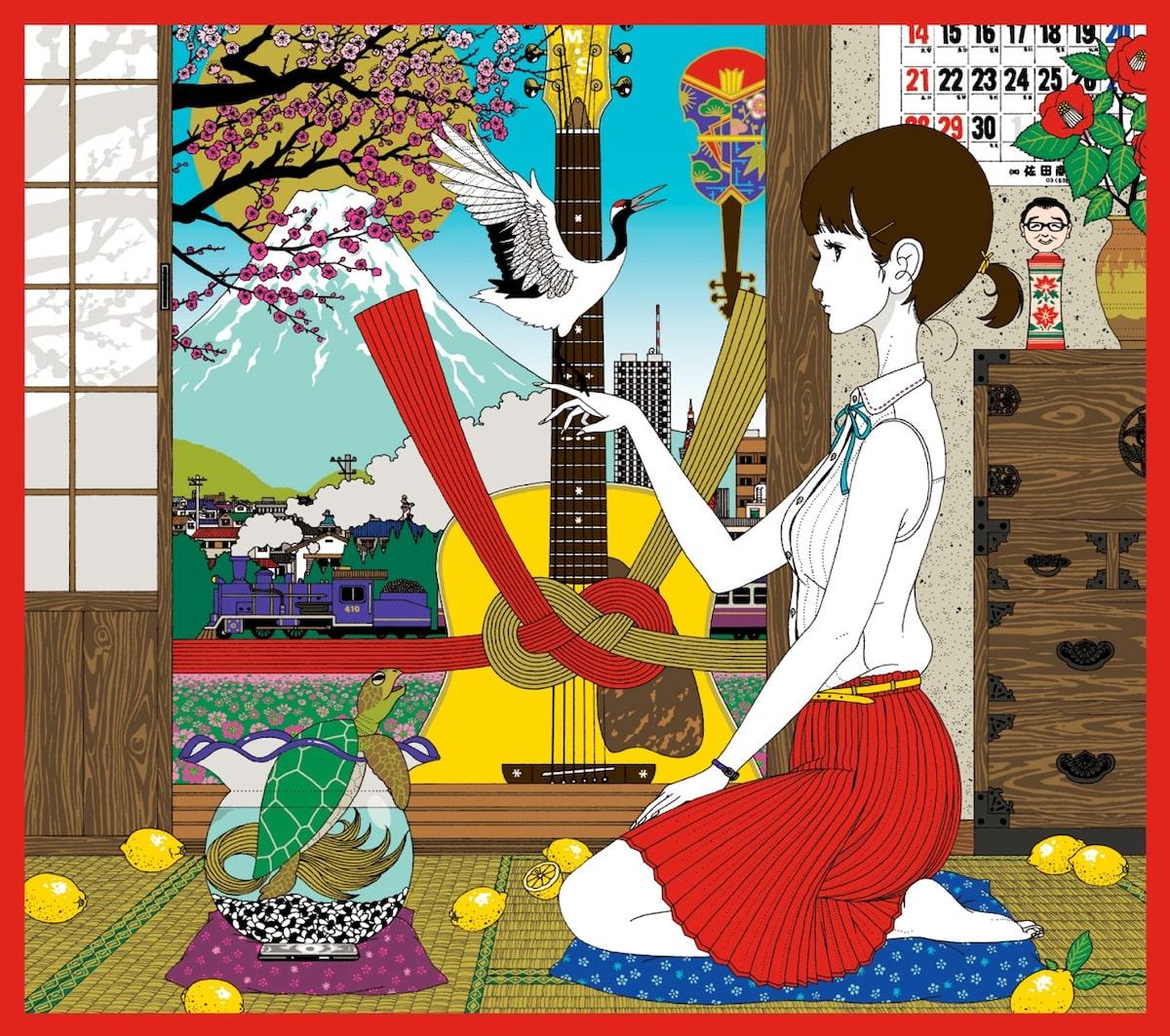 さだまさし×中村佑介、ベスト盤ジャケットで初タッグ - 音楽ナタリー