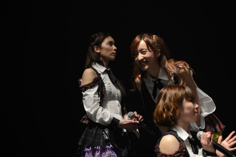 本日5月22日、東京・TOKYO DOME CITY HALLでの速報結果発表の様子。