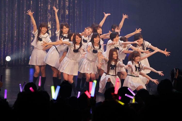 6月2日昼公演の「16人のプリンシパル deux」ミニライブの様子。