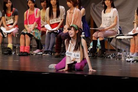 6月2日昼公演の「16人のプリンシパル deux」1幕より、西野七瀬。