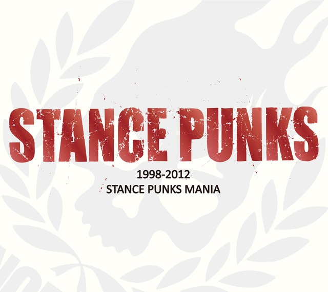 STANCE PUNKS「STANCE PUNKS MANIA 1998-2012」ジャケット
