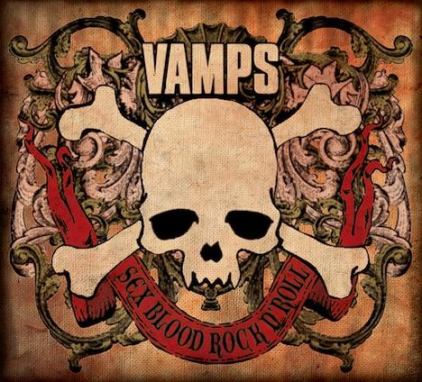 VAMPS「SEX BLOOD ROCK N' ROLL」ジャケット