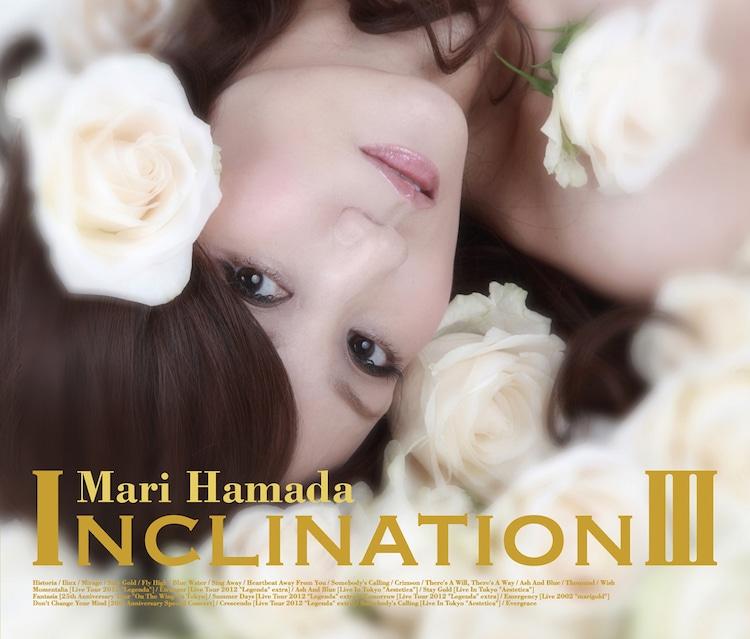 浜田麻里「INCLINATION III」初回限定盤ジャケット