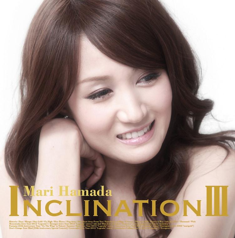 浜田麻里「INCLINATION III」通常盤ジャケット