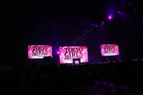 「TOKYO GIRLS COLLECTION'13 AUTUMN / WINTER」の様子。