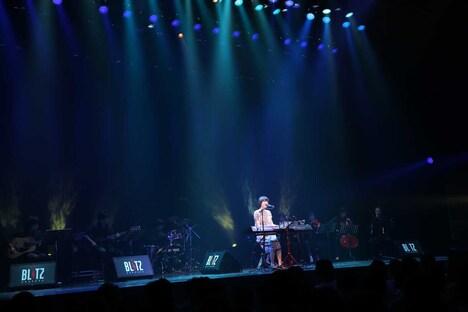 「南壽あさ子 プレミアム ワンマンライブ in 赤坂BLITZ」の様子。