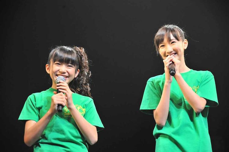左から大賀咲希、野津友那乃。