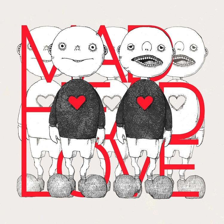 米津玄師「MAD HEAD LOVE / ポッピンアパシー」ジャケット