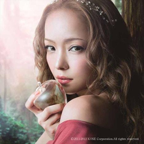 安室奈美恵「Neonlight Lipstick」配信ジャケット
