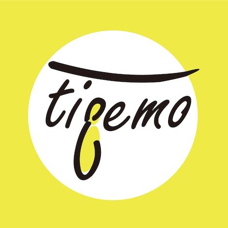 「tieemo」ロゴ