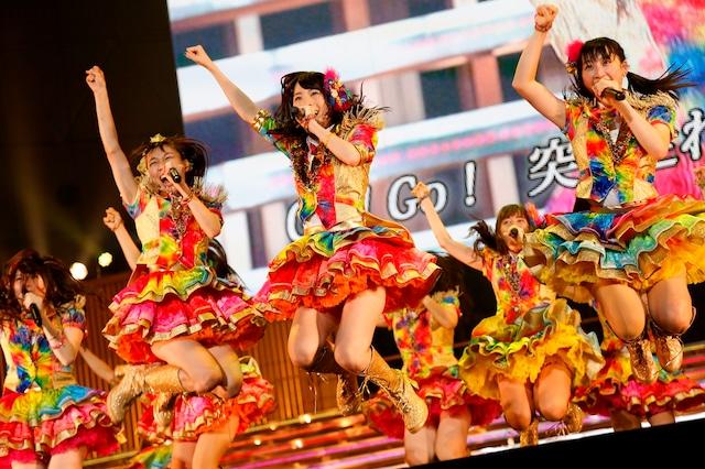 SKE48「SKE党決起集会。『箱で推せ!』」の様子。 (c)AKS