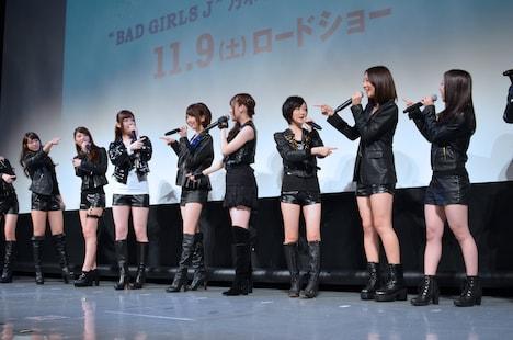 """「""""BAD GIRLS J"""" 乃木坂46スペシャルナイト」の様子。"""