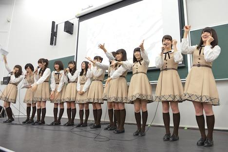 「AGESTOCK2013 in 早稲田祭 Age×乃木坂46」の様子。