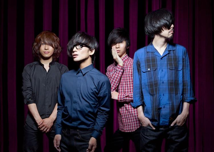 ヒトリエ。左からイガラシ、wowaka、ゆーまお、シノダ。