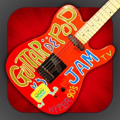"「TAKUYAが教えるギター・レッスン ""Guitar de POP""」アイコンイメージ Application (c)monsterdive, inc. All rights reserved."