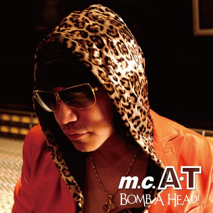 m.c.A・T「Bomb A Head! 生誕20周年記念盤 ~ありがとう編~」ジャケット