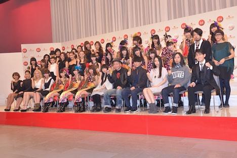 「第64回NHK紅白歌合戦」初出場アーティストのE-girls、NMB48、miwa、泉谷しげる、サカナクション、Sexy Zone、福田こうへい。
