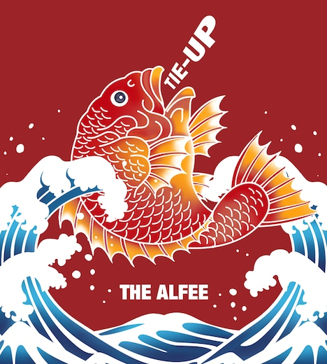 THE ALFEE「TIE-UP ~Collaboration History~」ジャケット