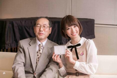 対談終了後の桐谷広人、橋本奈々未(左から)。(撮影:江藤大作)