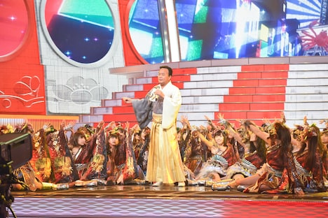 細川たかしとNMB48。