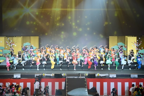 """「3Bjunior Live Final """"俺の藤井"""" 2014」の様子。"""