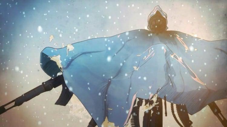 amazarashi「古いSF映画」PVのワンシーン。