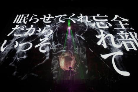 amazarashi「amazarashi LIVE TOUR 2014『あんたへ』」Zepp Tokyo公演の様子。