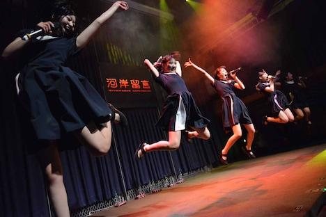「KAWAII POP FES by@JAM in台湾」Dorothy Little Happyのライブの様子。