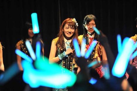 「KAWAII POP FES by@JAM in台湾」SUPER☆GiRLSのライブの様子。