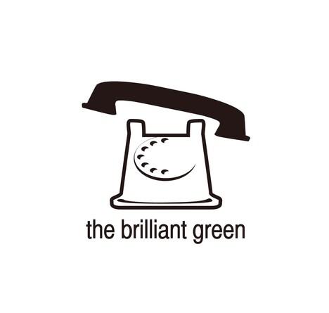 the brilliant greenロゴ