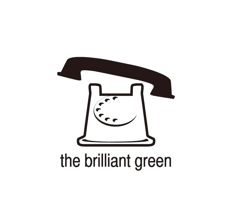 the brilliant greenロゴ
