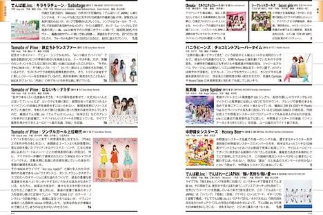 「アイドル楽曲ディスクガイド Idol Music Disc Guide 1971-2013」掲載ページ