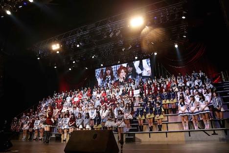 「AKB48グループ大組閣祭り~時代は変わる。だけど、僕らは前しか向かねえ!~」の様子。 (c)AKS