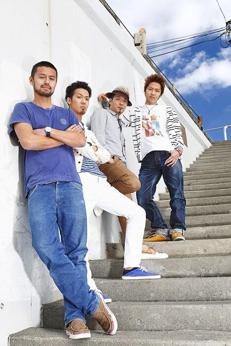 今井洋介と逗子三兄弟。