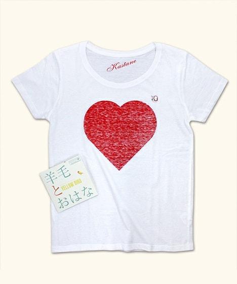 「YELLOW BIRD~Kastane 2014 ~with 10th Anniversary T shirts」のKastane10周年記念Tシャツ。