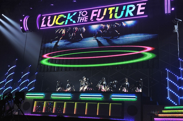 「私立恵比寿中学 Luck To The Future PART1」の様子。