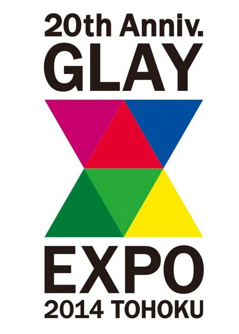 「GLAY EXPO 2014 TOHOKU 20th Anniversary」ロゴ